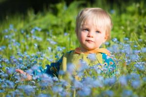 rodinná fotografie portrét na jaře vsetín