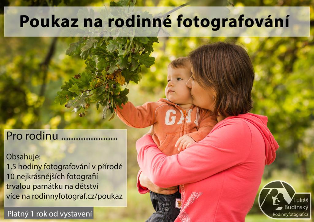 poukaz rodinné fotografování zlín vsetín