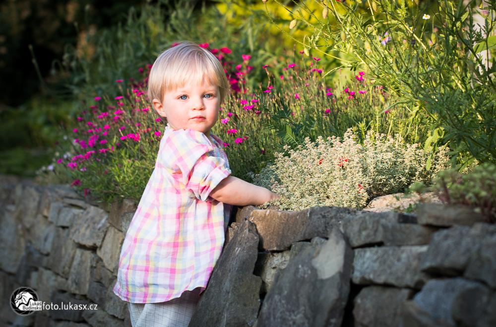 dětské portréty v přírodě zlín